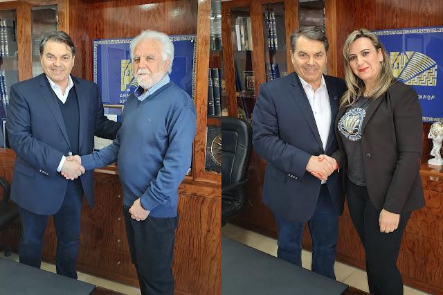 Ο Γιάννης Αθανασόπουλος και η Ανθή Μπλάτσου στο ψηφοδέλτιο του Δημήτρη Καμπόσου (βίντεο)