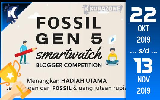 Kompetisi Blog - Fossil Gen 5 Smartwatch Berhadiah Jam Tangan dan Uang Tunai