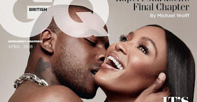 image result for naomi campbell and skepta gq pics