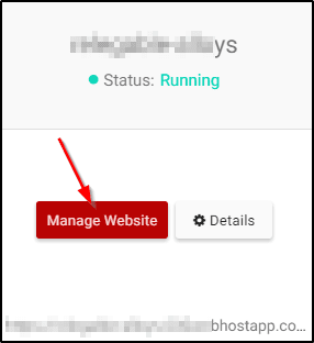 Manage Websites