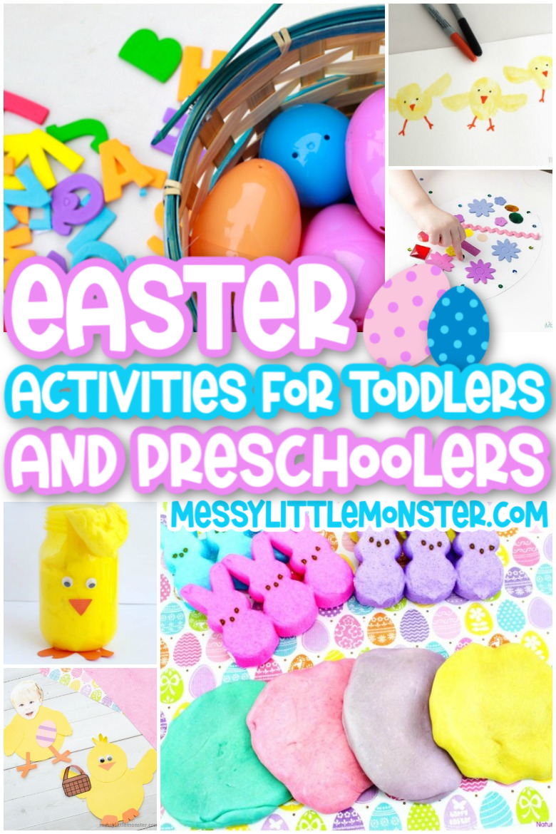 Easter activities for preschoolers and toddlers