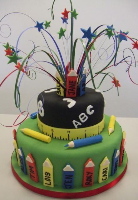 http://www.cakepicturegallery.com/v/birthday-cakes/Grade+school+theme+birthday+cake.JPG.html