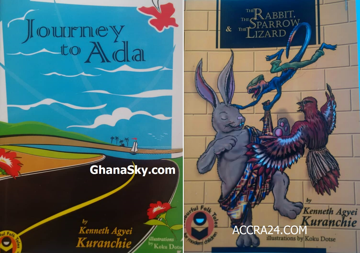 Journey to Ada And The Rabbit, The Sparrow and The Lizard.