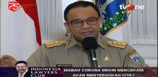 Keseriusan pemerintah dalam penanganan pandemik Covid-19 disoroti Gubernur DKI Jakarta, Anies Baswedan.