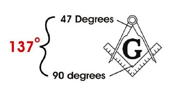 how to make 108 degree angle with compass