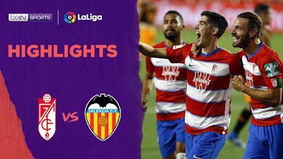 Video Granada 2-2 Valencia: Vòng 34, VĐQG Tây Ban Nha