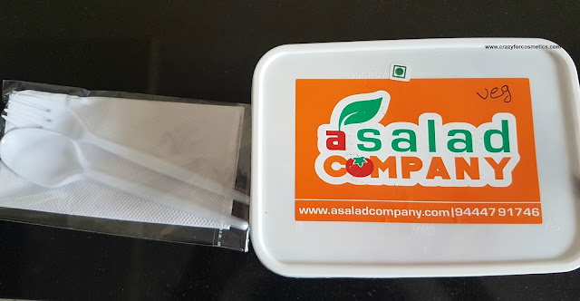 ASaladCompany Vegetarian Food
