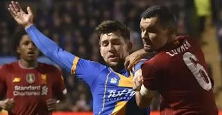 liverpool ditahan imbang dari klub divisi 3