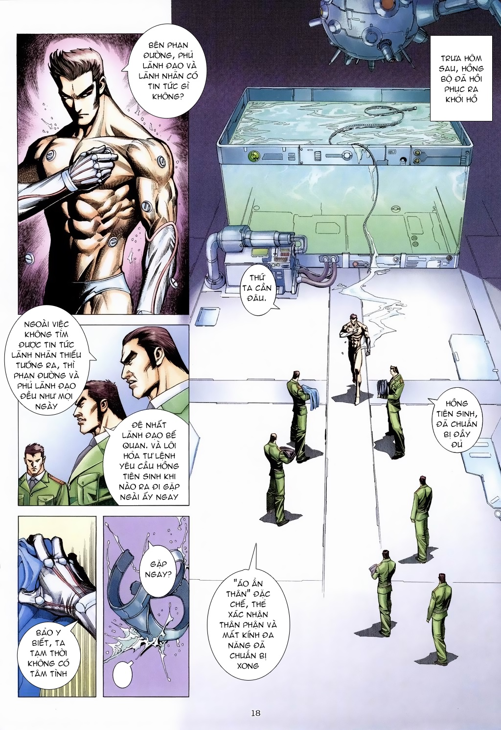 Xích Trụ Phạn Đường chap 18 - Trang 17