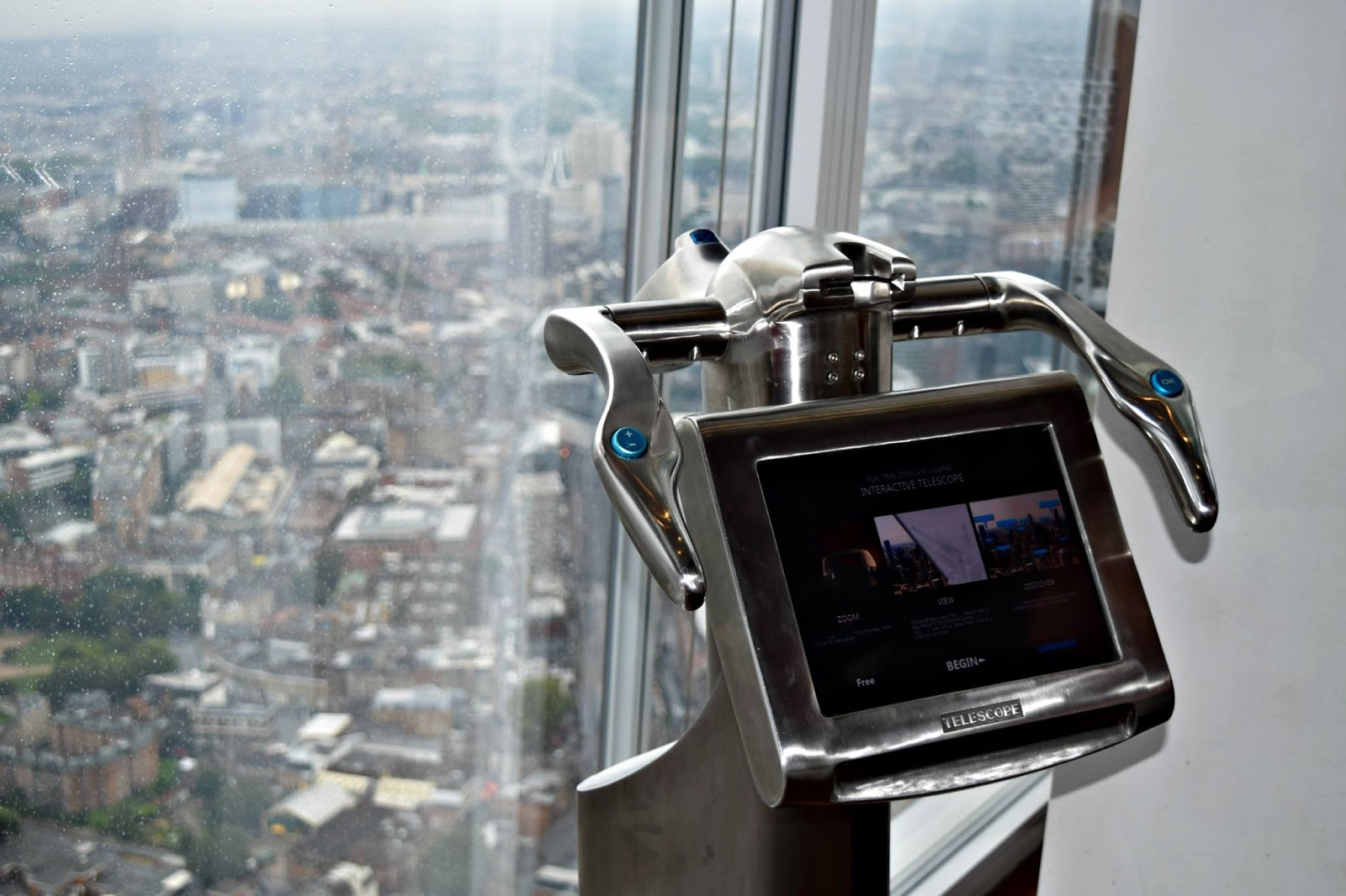 telescope at the shard