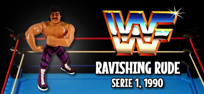 Figura Pressing Catch: Ravishing Rude (Hasbro, 1990)