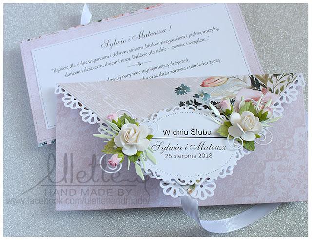 Kopertówka nietypowa kartka z okazji Ślubu