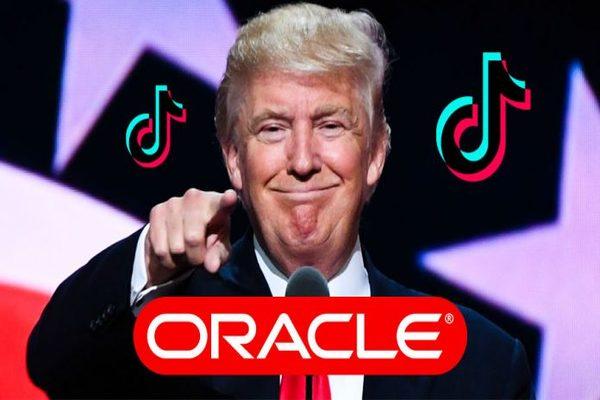 ترامب يدعم استحواذ Oracle على TikTok