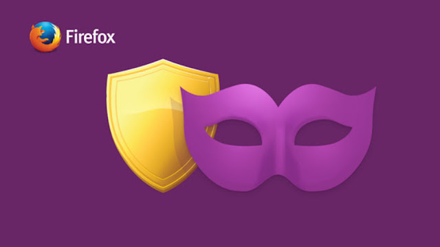 Firefox terbaru Private Browsing dengan tracking protection
