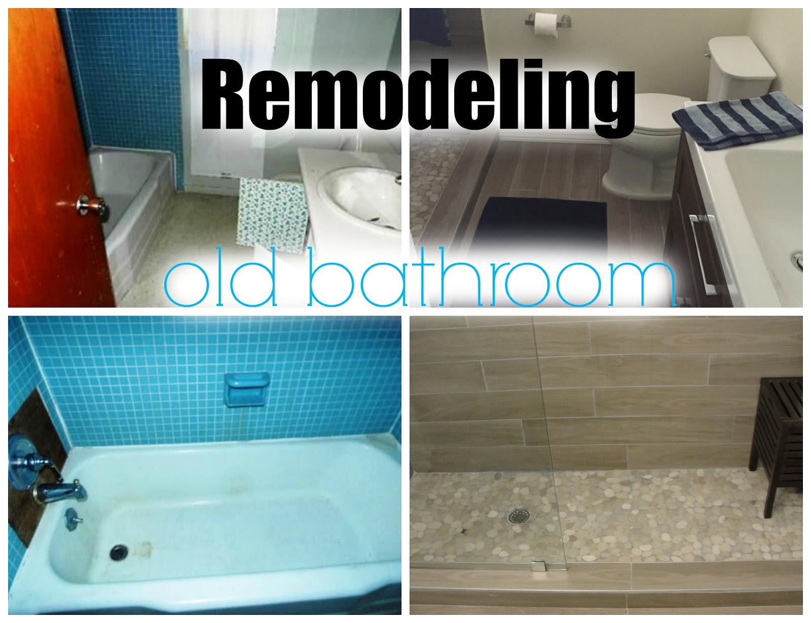 REMODELING OLD BATHROOM