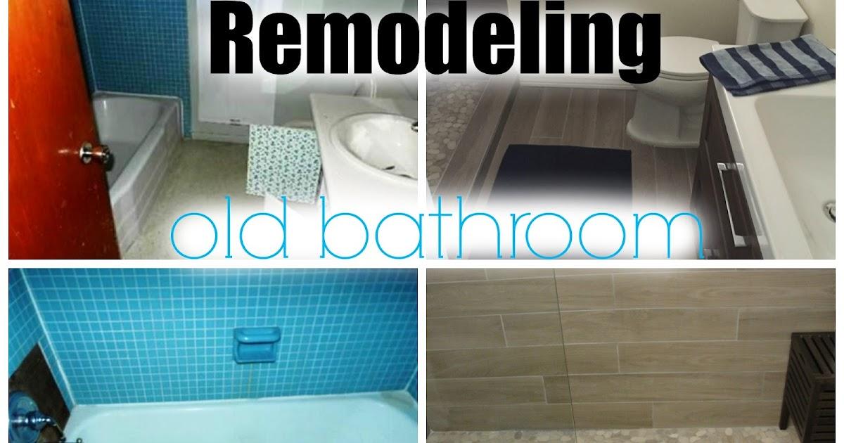 Remodeling an old bathroom