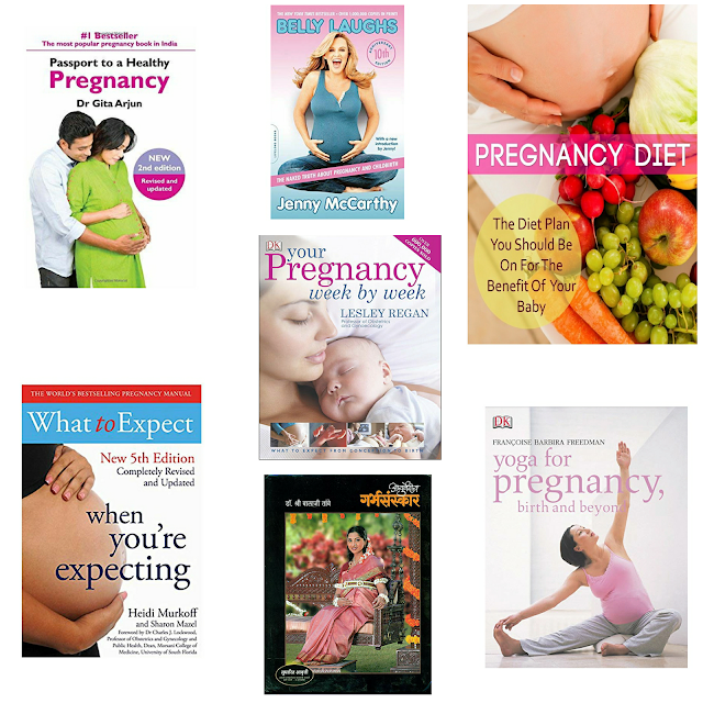 7 Best Pregnancy Related Books I have come across ....