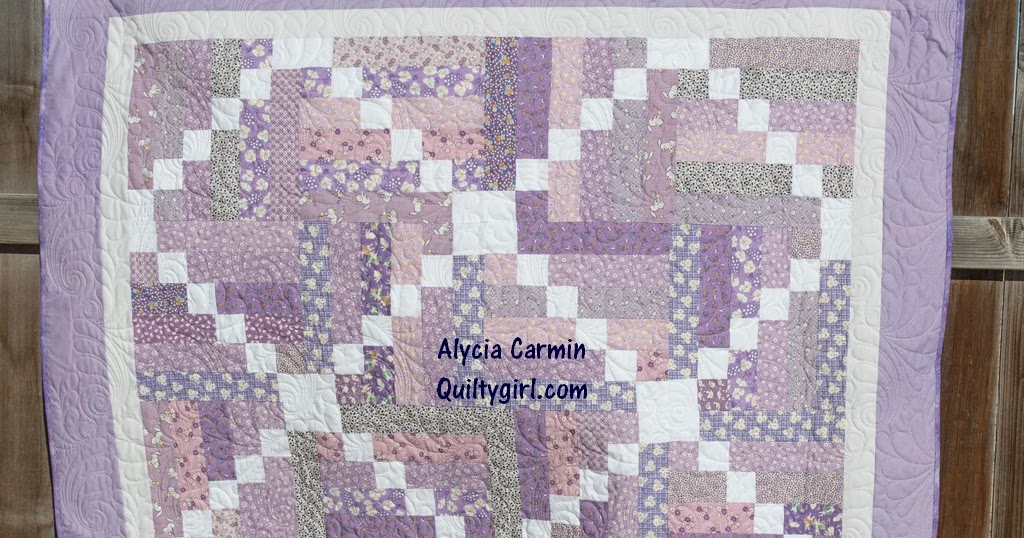 Alycia Quilts: Rainbow Scrap Challenge - a Purple Finish!!!