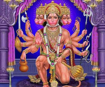 శ్రీ ఆంజనేయ దండకం Anjaneya Dandakam Telugu Lyrics Hanuman Mantra