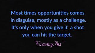 How to take advantage of opportunities Top 6 criteria of success cravingbiz.com