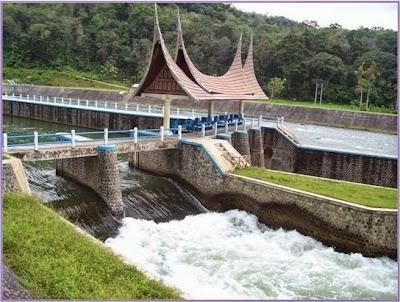 Pemandangan Sungai Batang Hari