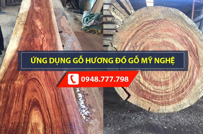 Gỗ hương là gì? Ứng dụng gỗ hương trong thi công đồ gỗ