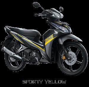 Blade R - Sporty Yellow Nagamas Motor Klaten