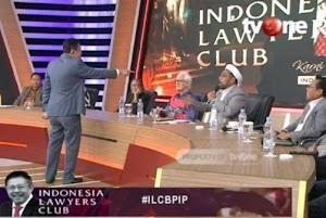 Karni Ilyas Gebrak Meja Tegur Ali Ngabalin di ILC