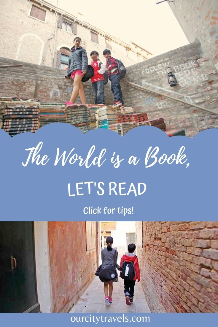 Follow the Books. Let's Read