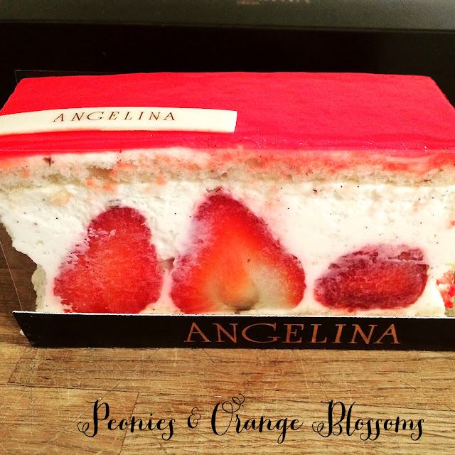 Le Fraisier from Angelina