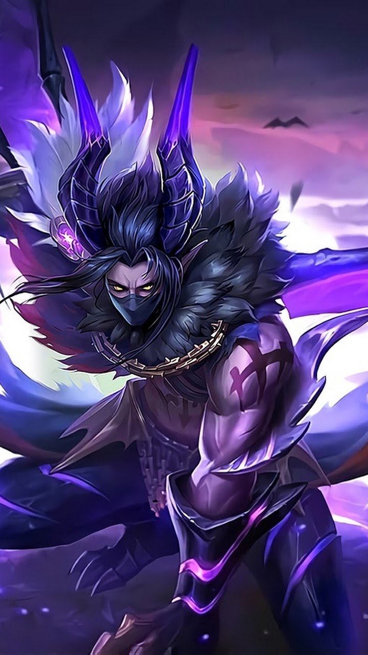 Wallpaper Moskov Twilight Dragon Skin Mobile Legends HD for Android and iOS