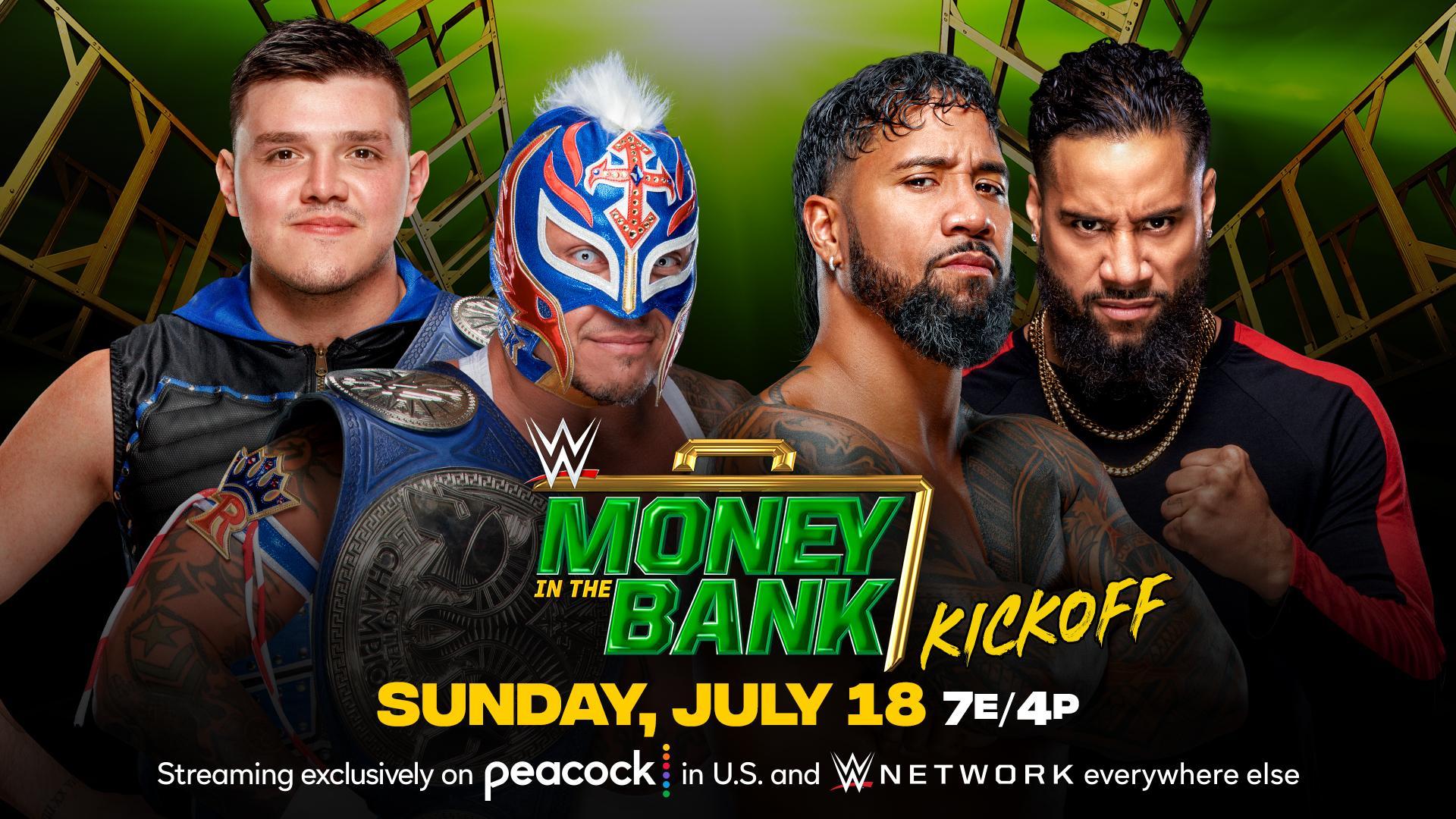 WWE anuncia novo combate por título para o Money in the Bank