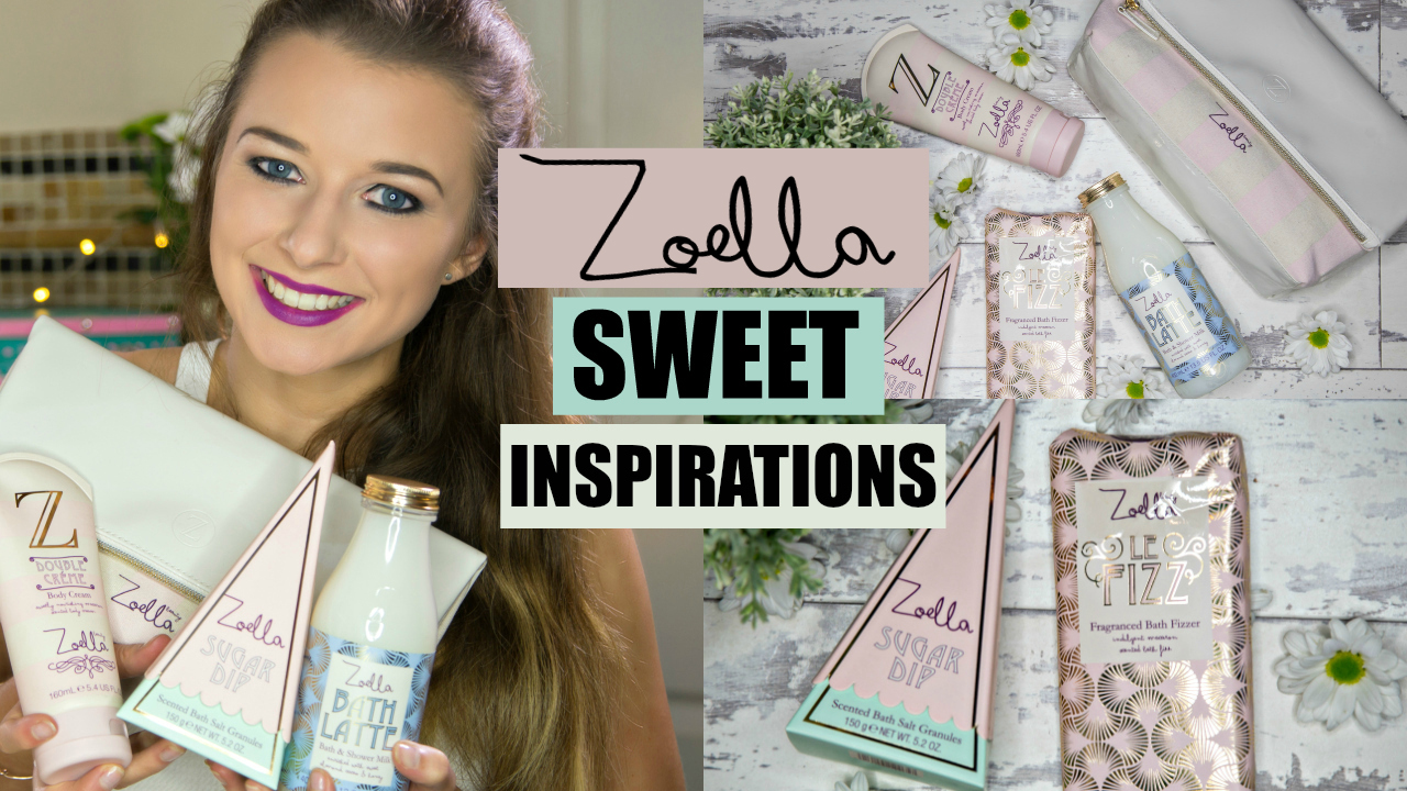 Above: Click On The Thumbnail To Check Out My Zoella Sweet Inspirations  Review