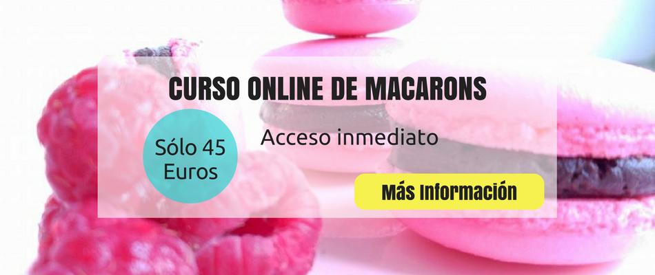 Curso online macarons