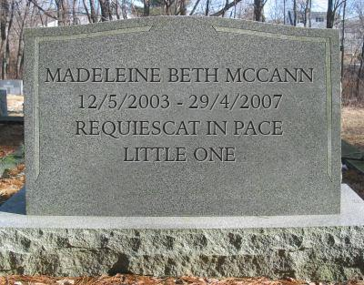 Madeleine McCann - 13th Anniversary of her disappearance