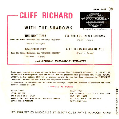 Cliff Richard and the Shadows – The Next Time  (1963) 7