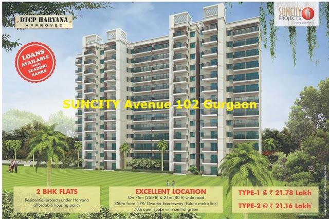 Suncity Avenue 102 Sector 102 Gurgaon