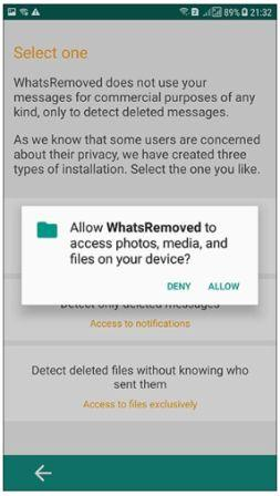 how to see Deleted Whatsapp Messages on Android