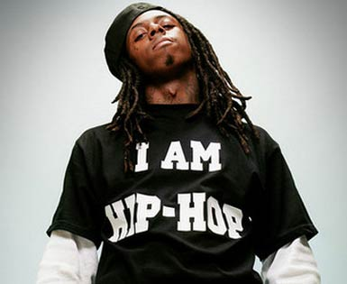 'I AM HIP-HOP' T-shirt worn by Lil Wayne.