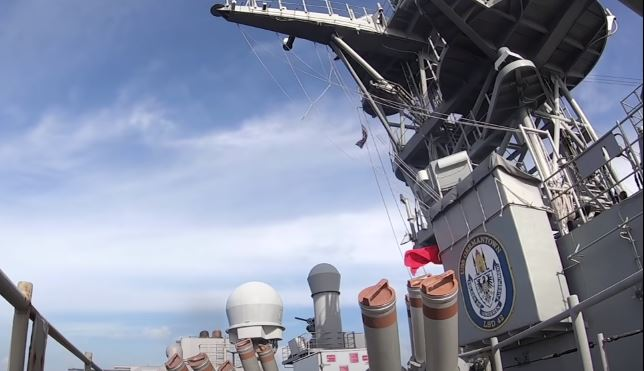 Navy launches missile