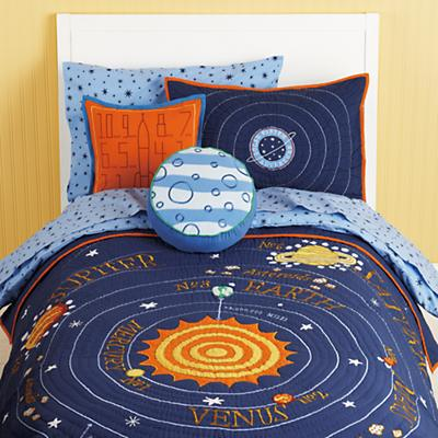 Boys Astronomy Bedding: High and Low  My Mom Shops