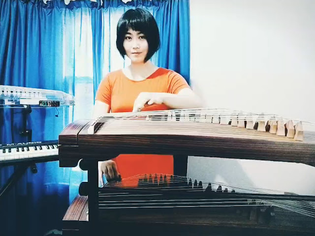 "Chinese Folk Song ""Ode to the Motherland"" Double Zheng (by SQLuna)"