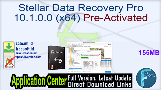 Stellar Data Recovery Pro 10.1.0.0 (x64) Pre-Activated _ ZcTeam.id