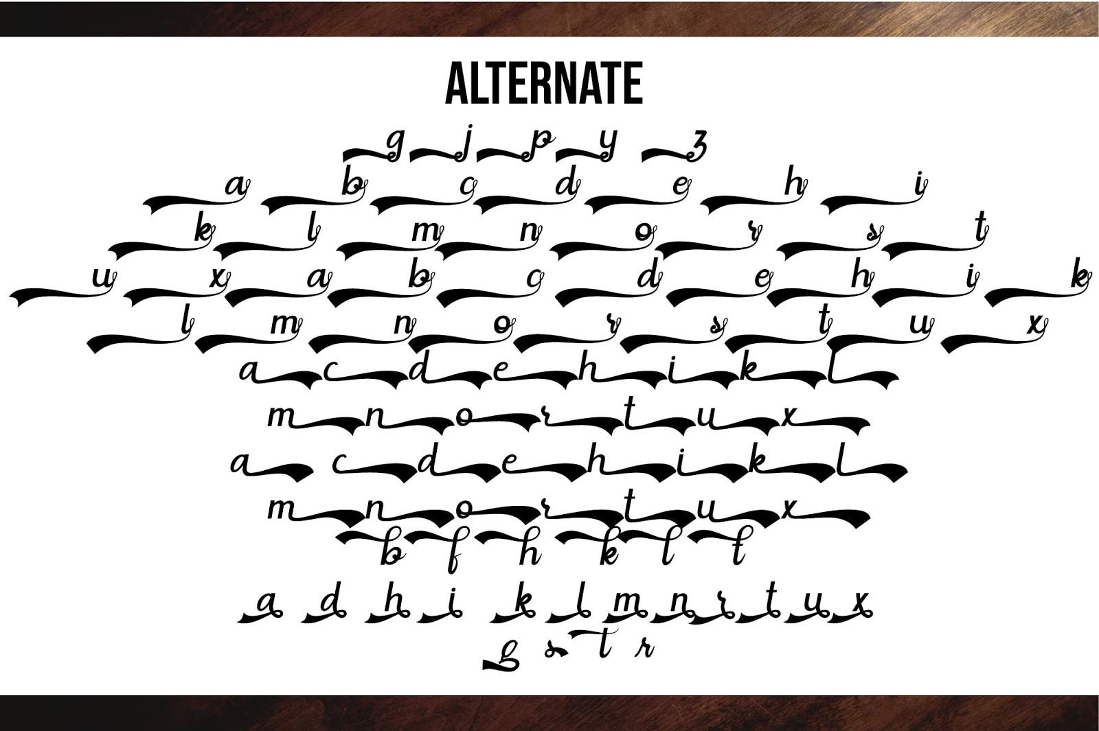 situgintu script font free download