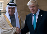 Critics were quick to see a cover-up to shield Saudi Arabia, a powerful Gulf ally of Britain