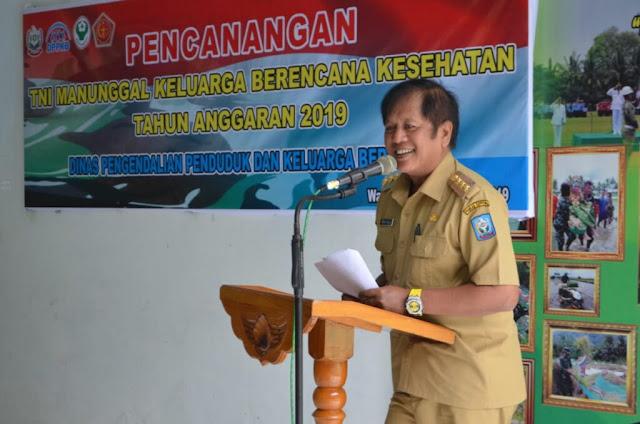 TNI Manunggal KB, Bupati Harap Program KB Jangkau Daerah Terpencil