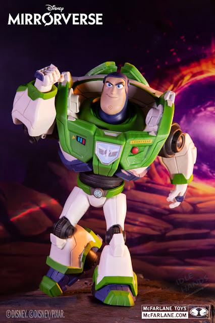 McFarlane Disney Mirrorverse Guardians 7 inch Action Figures Buzz Lightyear