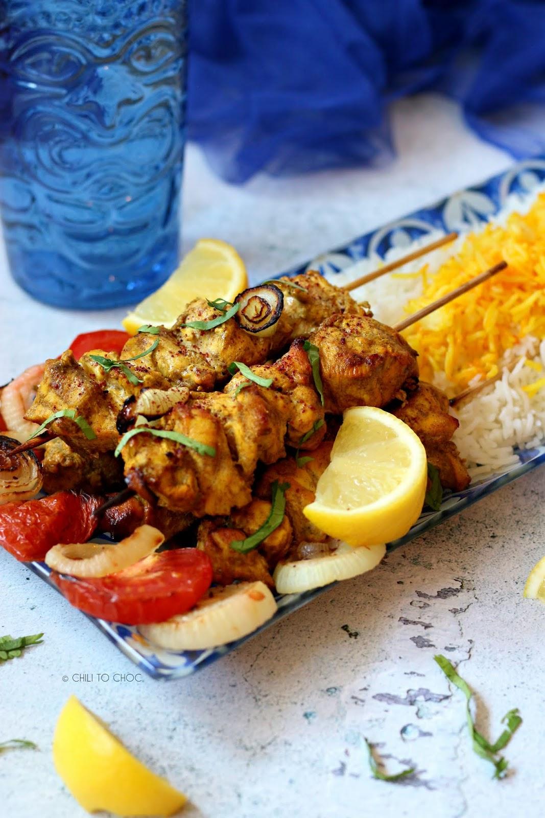 Persian Joojeh Kebab