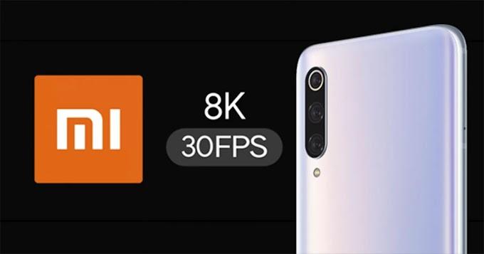 Novo XIAOMI poderá gravar vídeos de 8K a 30fps