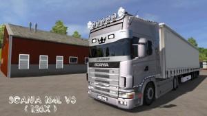 Mod - Scania 164L + Krone Trailer